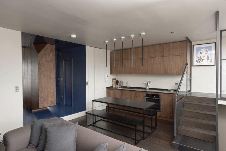 Salone. South Kensingthon, Londra. 2016, foto di Ben Gold | maii-interiors.com