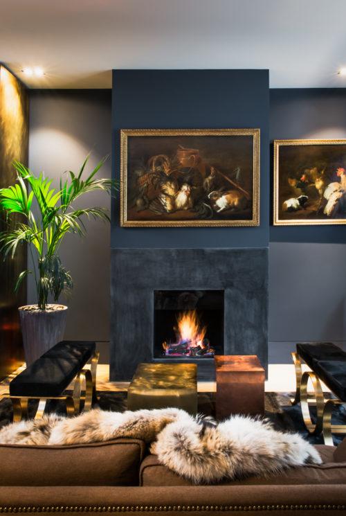 Camino. Campden Hill Road, Londra. 2017, foto di Xavier Béjot   maii-interiors.com