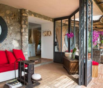 Terrazza. Monte Argentario, Toscana 2015, foto di Xavier Béjot | maii-interiors.com